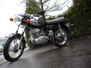 MZ TS 250 nach der Restauration