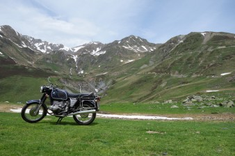 BMW R80/5  am Col du Tourmalet